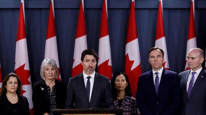 رئيس وزراء حكومة كندا جاستن ترودو