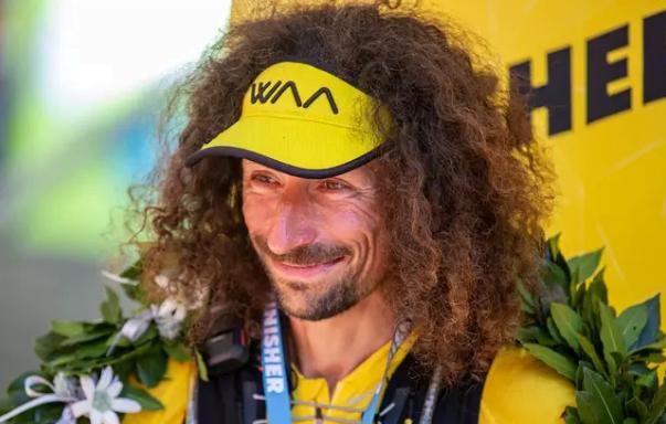 "Luca Papi في شهر سبتمبر 2019 ضمن سباق ""تور دي غلاسيه""، صورة لـ روبرتو رو"