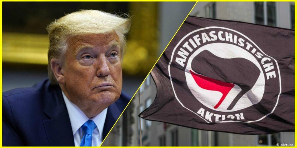 حركة أنتيفا والإحتجاجات الأمريكيّة الأخيرة في وفاة جورج فلويد: موقف ترامب؟