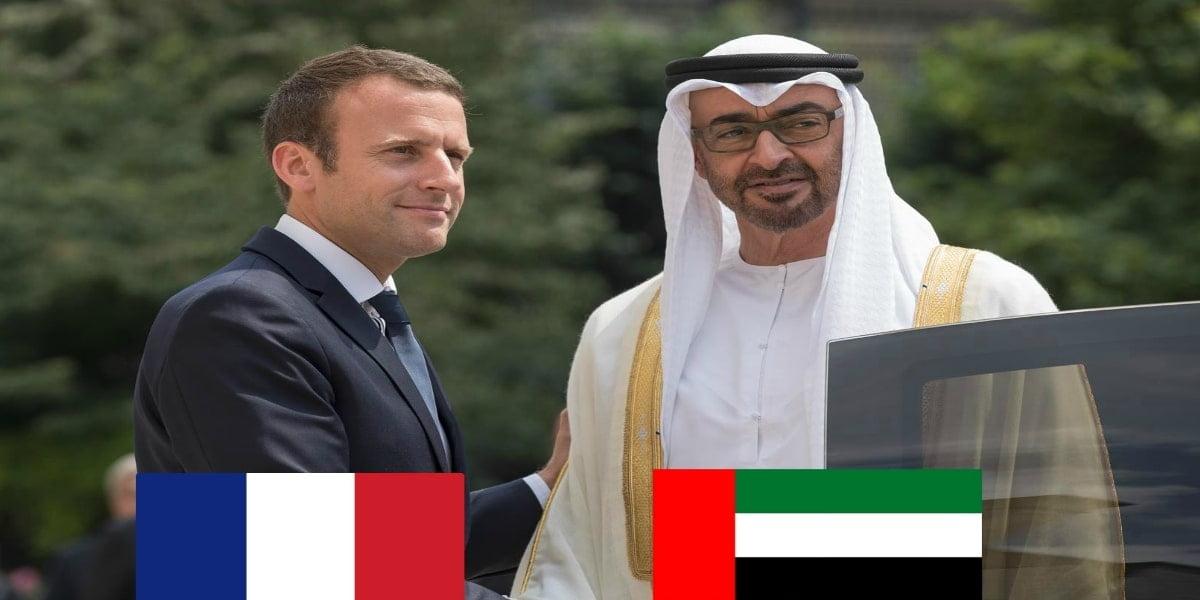 إيمانويل ماكرون يهنيء الإمارات بقرار التّطبيع مع إسرائيل