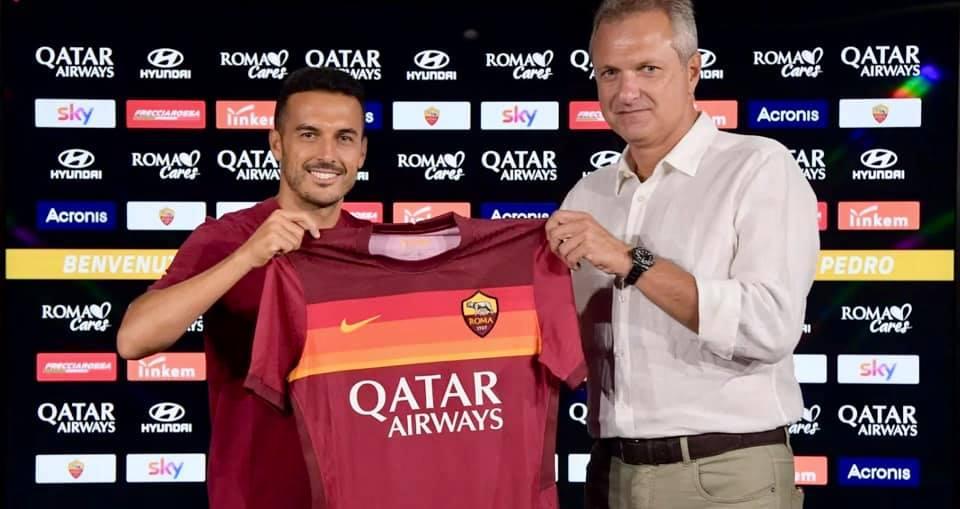 بيدرو رودريغز رسميّا ينظمّ إلى نادي روما الإيطالي بعقد ينتهي في صائفة 2023