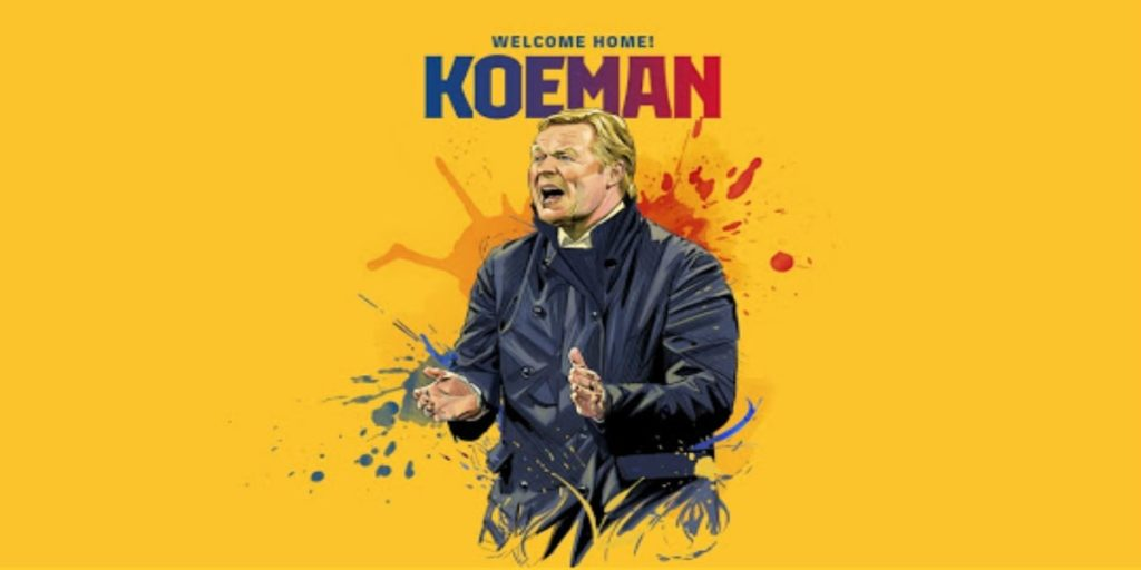 رونالد كومان المدرّب الجديد لنادي برشلونة