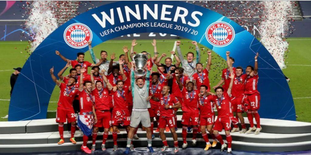 بايرن ميونيخ يضمن تأهّله لملاقاة إشبيلية ضمن مسابقة كأس السوبر الأوروبي