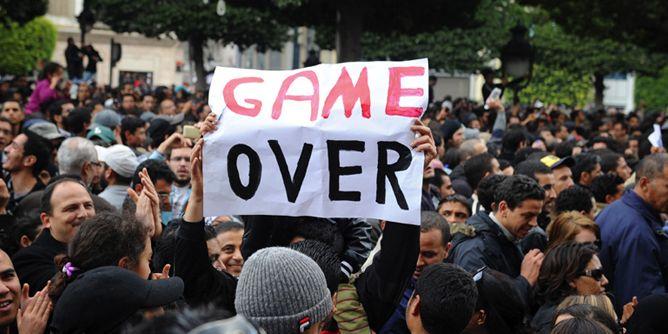 صور من الثورة التونسية
