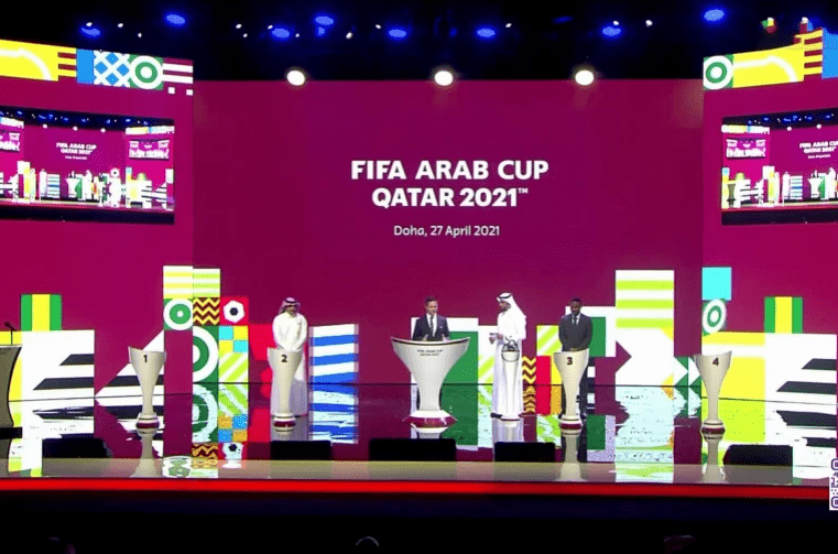 قرعة كأس العرب لكرة القدم قطر 2021