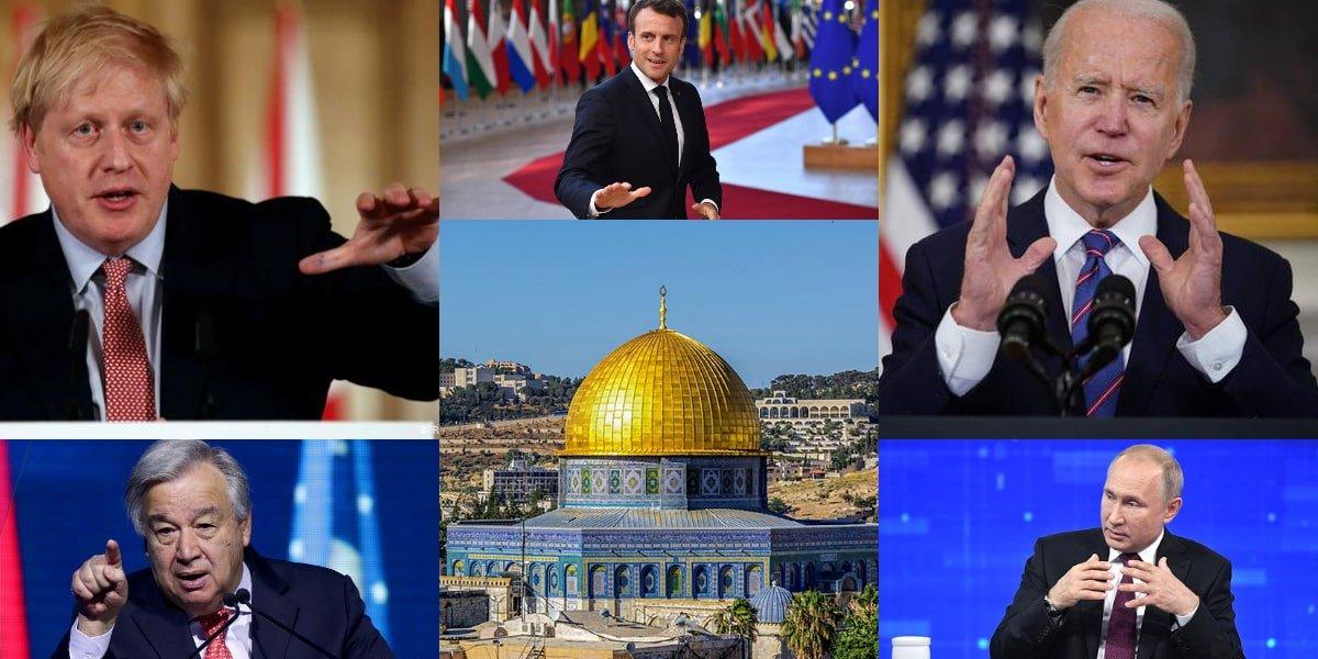 التصعيد في فلسطين
